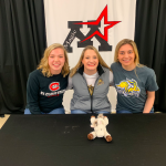 Three Magic students pursue swimming and academics at the next level!