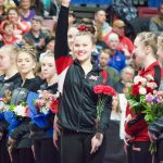 Kennedy Bican finishes incredible high school career at MSHSL State Gymnastics Meet!