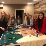 Monticello Girls Soccer works hard to help others!