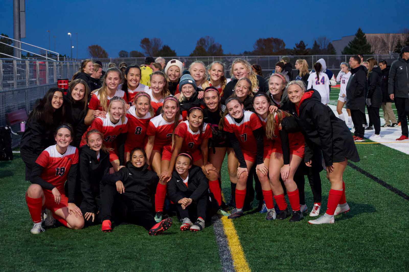 Monticello Girls Soccer advances to Section 6A Championship!