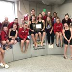 Monticello sends multiple swimmers to STATE, finish second as a team in Section swim meet!