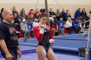 PHOTOS: Monticello Gymnastics vs. Sartell (12-10-2019)