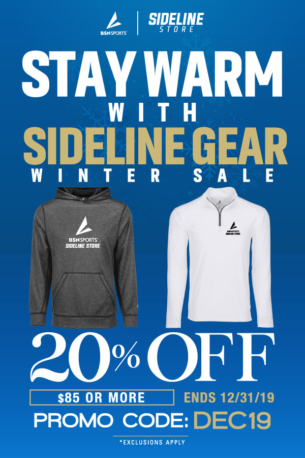 Stay Warm with Monticello Sideline Gear!