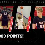 Austin Wetter becomes seventh boys basketball player in school history to eclipse 1000 points!