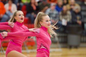 PHOTOS: Monticello Dance Team at MHS Invitational (01-25-20)