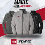 Monticello North Face Gear is Here!