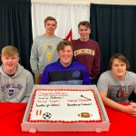 Five Magic students pursue academics and athletics at the collegiate level!