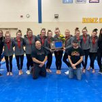 Gymnastics takes second at sections, advance three gymnasts to STATE!