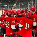 Moose fall to Hawks 7-1 in Class A Boys Hockey Quarterfinals