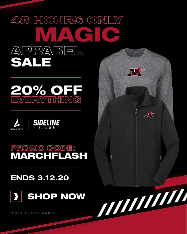 Need Apparel? March 11 and 12 Flash Sale!