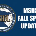 MSHSL Guidelines for Fall Training Seasons!