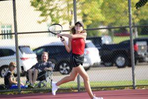 PHOTOS: Girls JV Tennis vs. Becker (09-24-20)