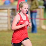 Results from Middle School and Junior Varsity Mississippi 8 Conference Cross Country Meet!
