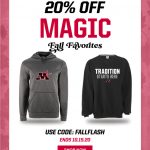 Need new Monticello Apparel? FLASH SALE Oct.14 and Oct. 15!