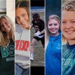 Five student-athletes pursue academics and athletics at the next level!