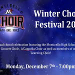 MHS Virtual Winter Choral Festival is TONIGHT!