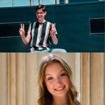 Rachel Dahlke and Joseph Richards are Monticello High School's AAA Award Recipients!