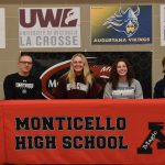 Monticello hosts National Signing Day event for 2021 student-athletes!