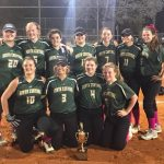 Softball wins Tournament Championship!