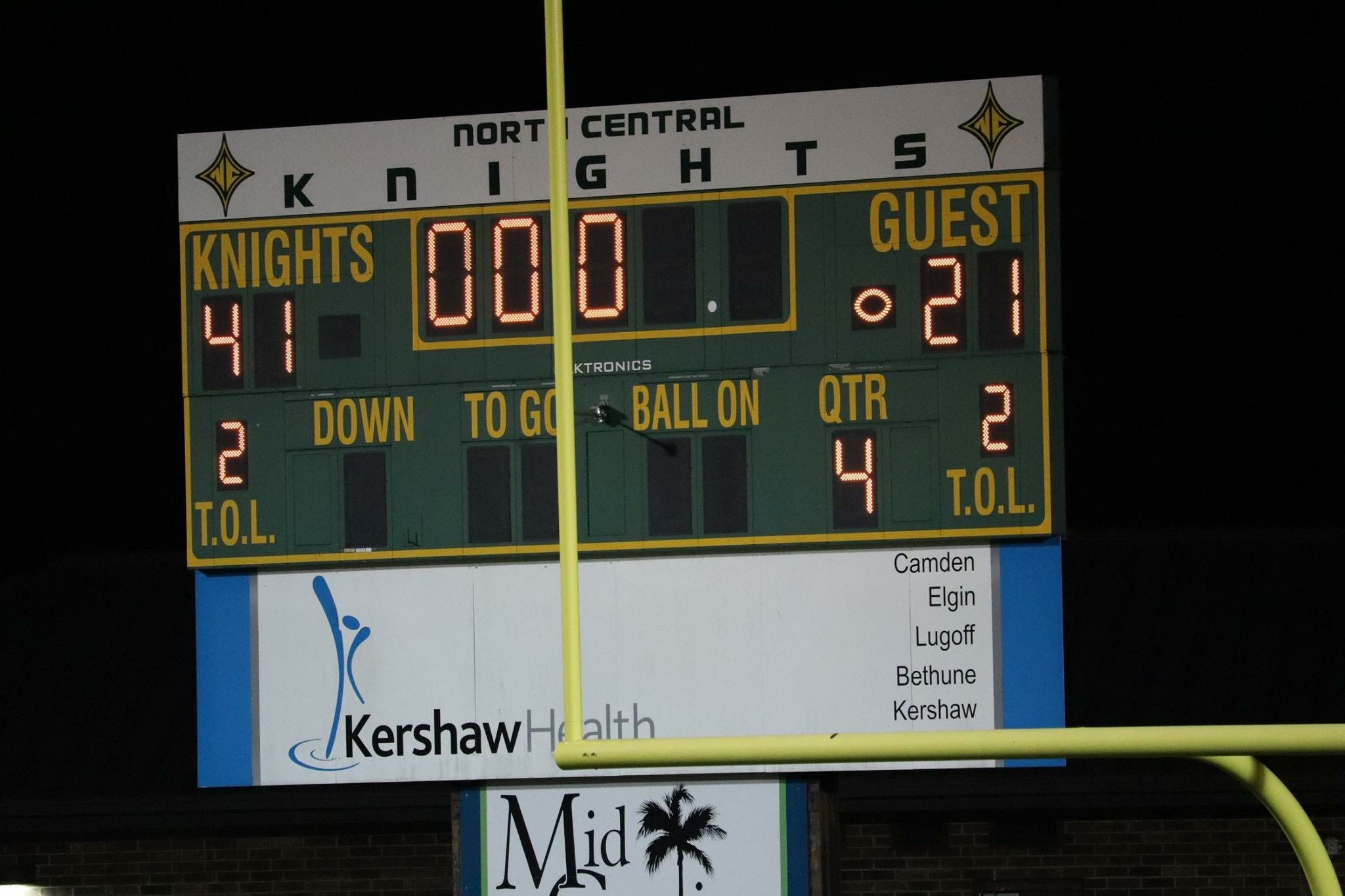Knights defeat Central for 1st Time in 30 years!