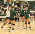 KNIGHTS Volleyball Travel to Chesnee for Upper State Title