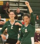 Two Lady KNIGHTS make All State Volleyball
