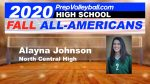 Alayna Johnson named High School All-American