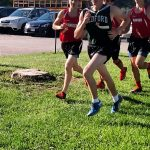 Bedford High School Boys Varsity Cross Country finishes 3rd place