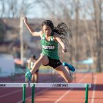 Bedford Girls Track defeat Warrensville and Maple in Double Dual Meet at Warrensville