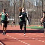 Boys Track Wins Tri-Meet at Lorain with Shaw