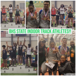 Bedford Track Athletes make Podium at State Indoor Championship!!!
