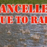 Softball Sectional Games Cancelled