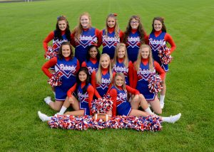2018-19 Girls Sideline Cheer