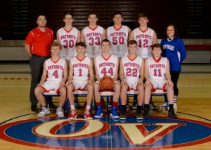 2018-19 OVHS Patriot JV Basketball