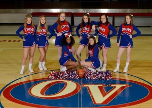 2018-19 OVHS Patriot Varsity Cheer