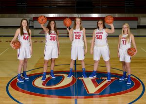 2018-19 OVHS Lady Patriot Varsity Basketball