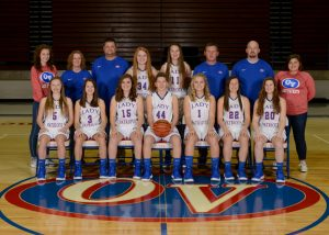 2018-19 OVHS Lady Patriot JV Basketball