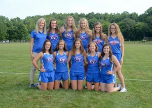 2019-2020 Girls XC team
