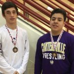 Earick leads four Canes' wrestlers to place at Whitewater Tourney