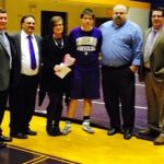 Wrestling Honors Blake Adams on Senior Night