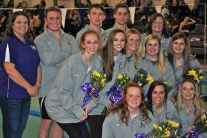 Swim/Dive Team Senior Night 2016