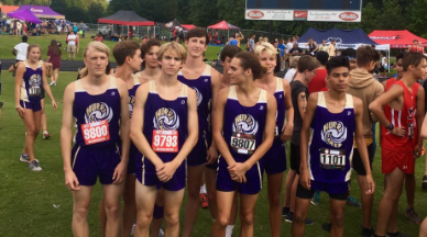 Canes place 4th at West Hall XC meet