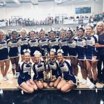 Varsity Competition Cheer finishes 1st place at Pepperell Competition