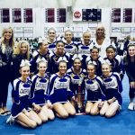 Girls Varsity Competitive Cheer finishes 1st at Woodland Competition