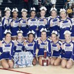 Varsity Competition Cheer finishes 1st place at Hillgrove Competition