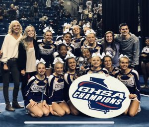 Competition Cheerleading 2018 STATE CHAMPIONS