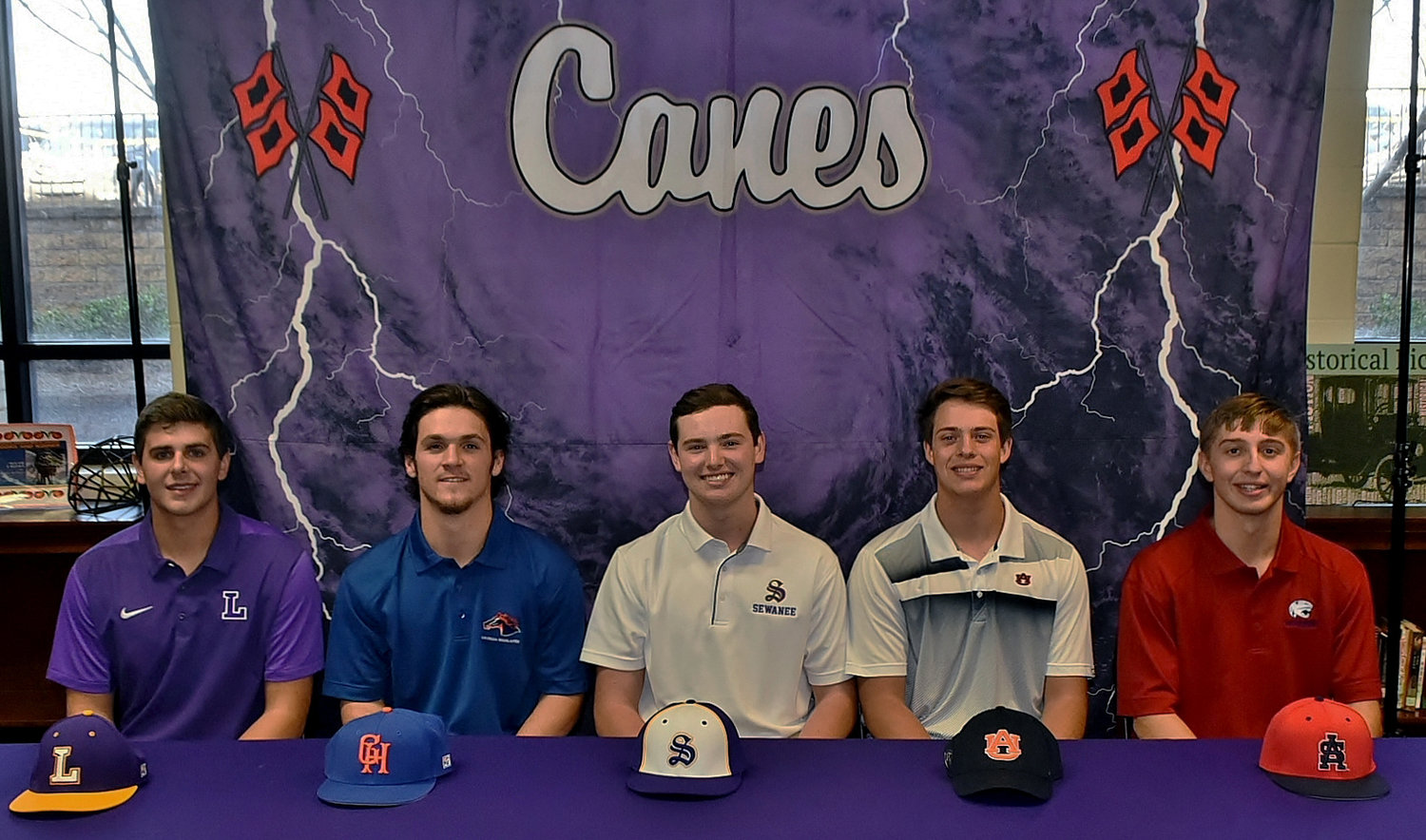 5 Cartersville baseball players sign to play collegiately
