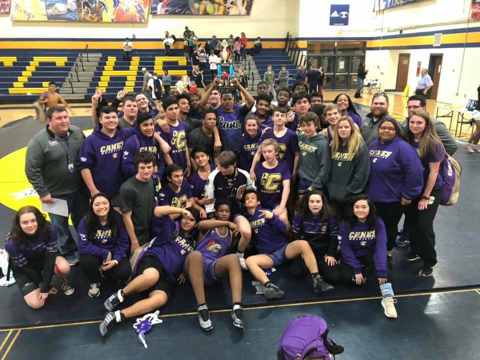 Canes make history with state duals berth