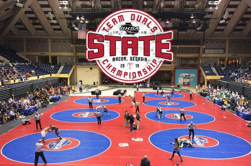 Canes Wrestling Seeded at AAAA State Duals Tournament