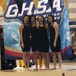 Canes Swim Team Competes at GHSA State Championship